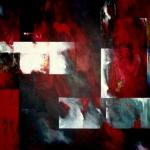 Het aangezicht van een kletterende waterval 100 x 150 cm 2013