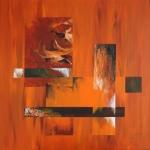 Rust 80 x 80 cm. 2010